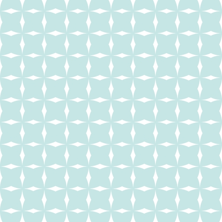 green day baby blue background: Tile mint green and white vector pattern or website background