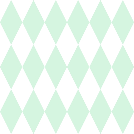 green texture: Tile vector pattern or mint green and white wallpaper background