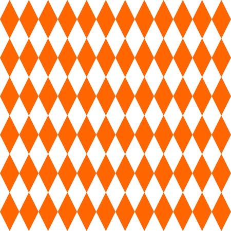 Tile orange vector pattern