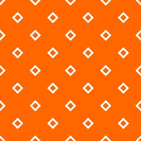 Tile orange and white vector pattern