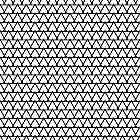 mosaic: Tile black and white vector pattern or website background