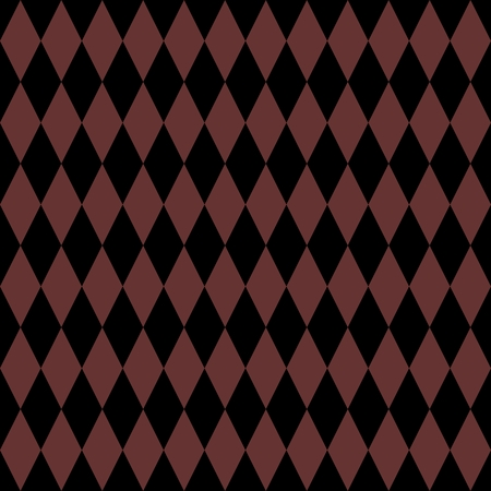 diamond texture: Tile vector pattern with black and brown background