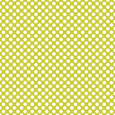 white tile: Tile vector pattern with white polka-dots on green background Illustration