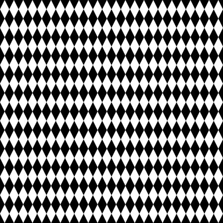 repetition: Tile black and white background