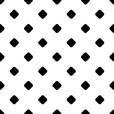 grid pattern: Tile black and white background vector pattern