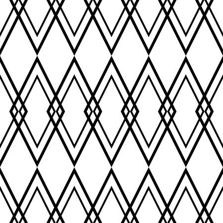 modern bathroom: Tile black and white vector pattern or website background
