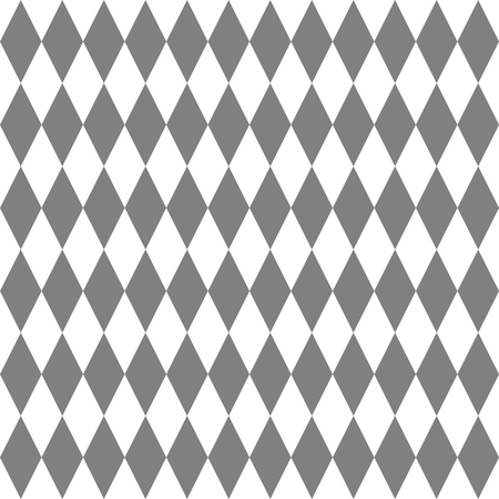 grey: Tile vector pattern with grey and white background wallpaper Illustration