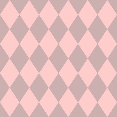 pierrot: Tile vector pattern with pink background print