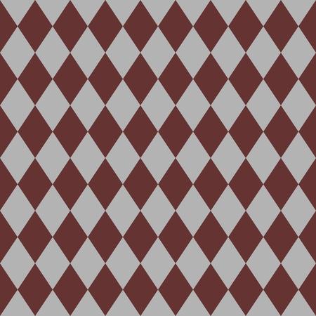tile pattern: Tile brown and grey vector pattern or website background Illustration
