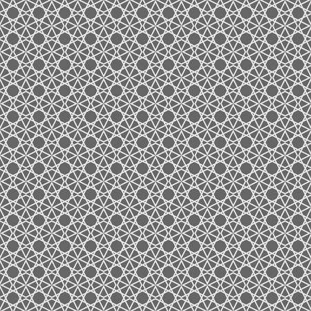 tile: Tile black and white background or vector pattern