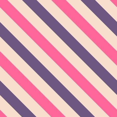 tile pattern: Tile pink and violet stripes vector pattern Illustration