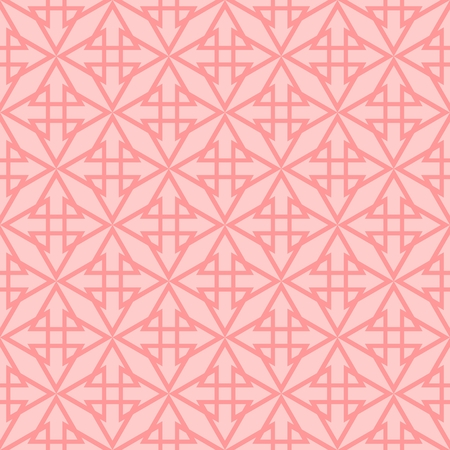 grid: Tile vector pattern with pink background