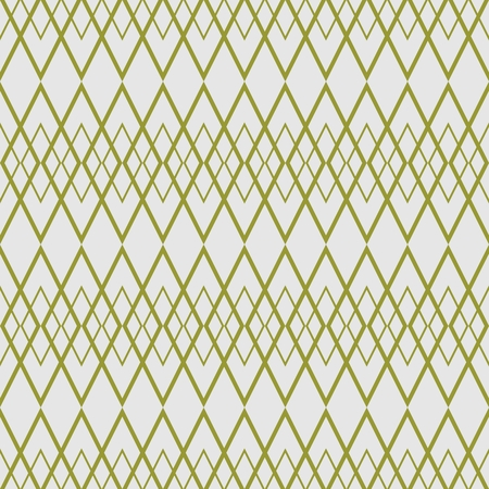 Tile vector pattern with green pattern on grey background Illustration
