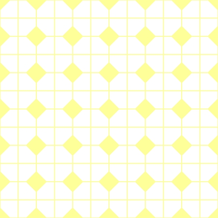 tile pattern: Tile yellow and white vector pattern or website background