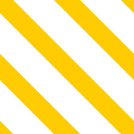 texture: Tile vector pattern with yellow and white stripes background Illustration