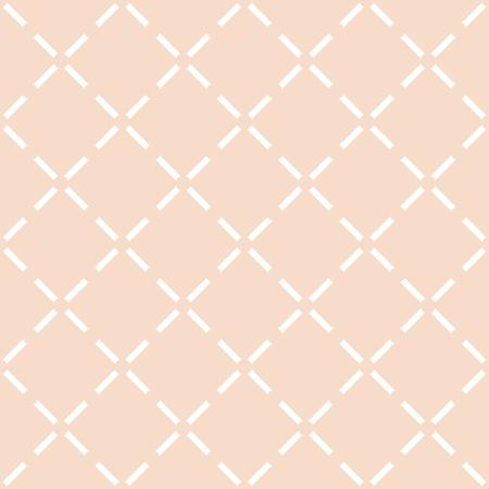 Tile pastel quilted vector pattern Illustration
