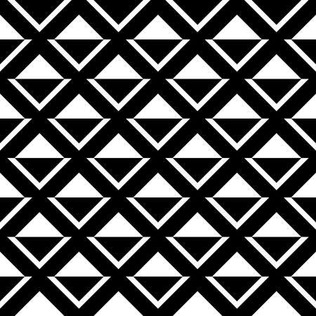 repetition: Tile black and white vector pattern or website background