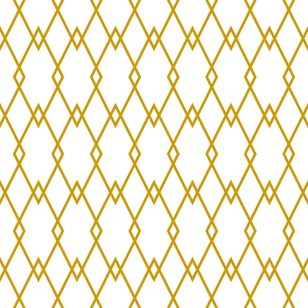 Tile golden and white vector pattern or website background