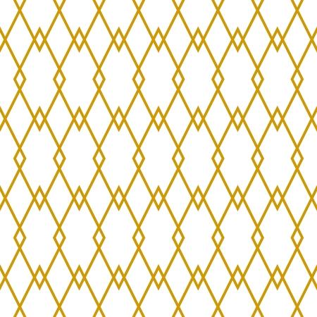 modern bathroom: Tile golden and white vector pattern or website background