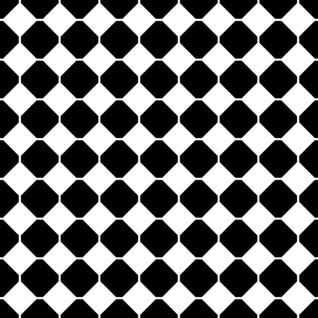 board: Tile black and white background vector pattern