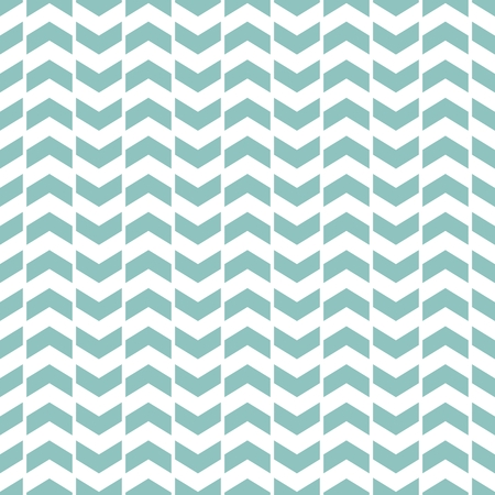 Tile chevron vector pattern with sailor blue and white zig zag background