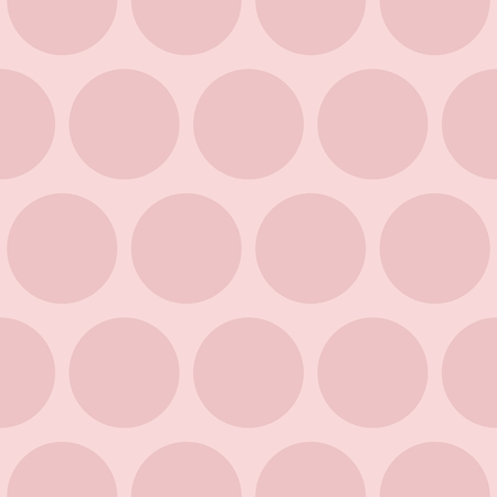 people: Tile vector pattern with pink polka dots pastel background