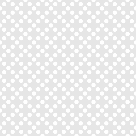 Tile pattern with white polka dots.