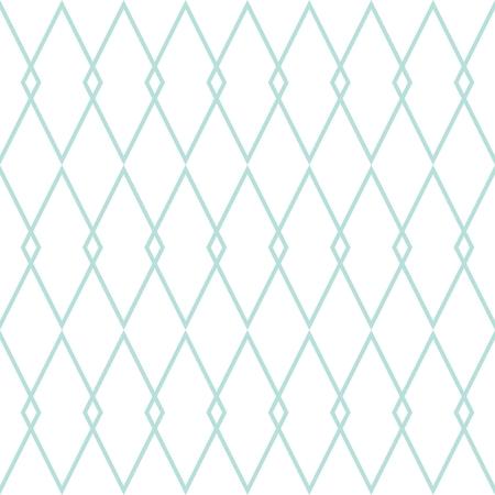 Reticolo delle mattonelle o fondo verde e bianco di vettore della carta da parati della menta Vettoriali
