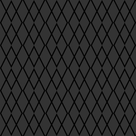 Tile grey vector pattern or seamless background Illustration