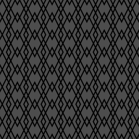 Tile grey vector pattern or seamless background Illustration
