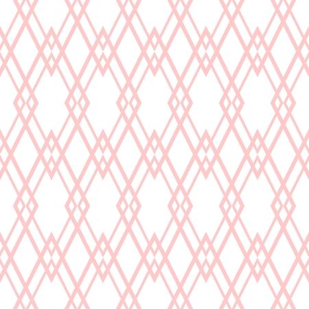 Pastel pink tile vector pattern vector illustration. Illustration