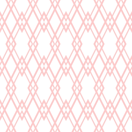 Pastel pink tile vector pattern vector illustration. Illustration