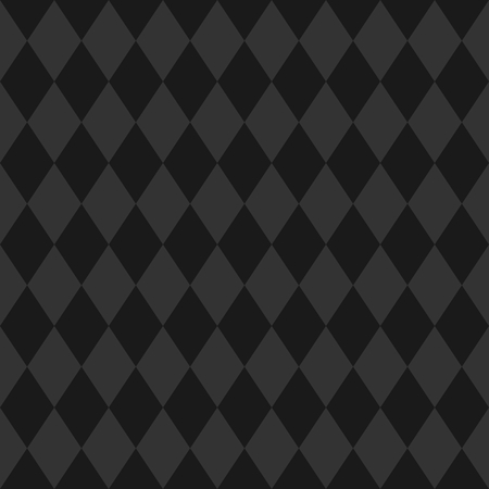 Tile black and gray background or vector pattern Illustration