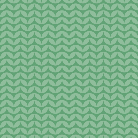 Tile green and blue knitting vector pattern or winter background.