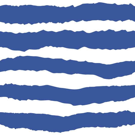 Tile vector pattern with navy blue and white stripes Illustration