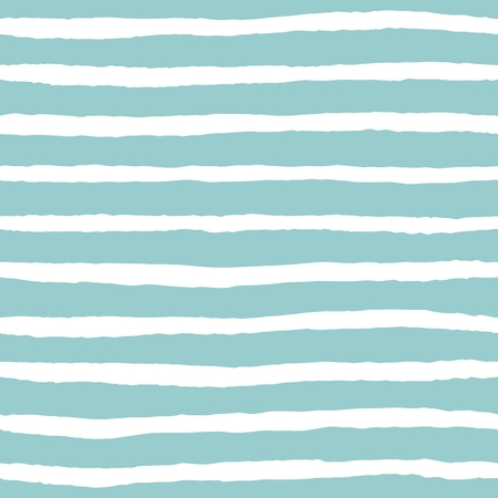 Tile vector pattern with mint green and white stripes Illustration