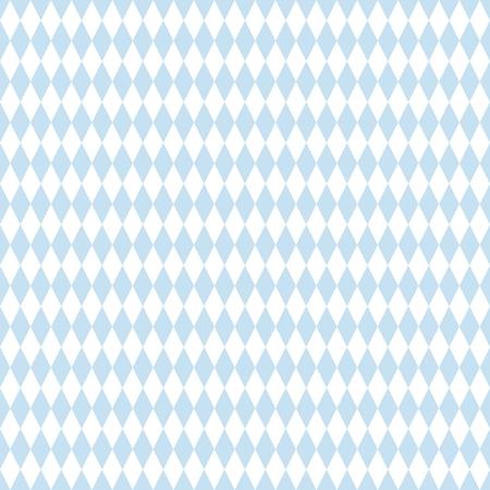 Reticolo di vettore delle mattonelle o priorità bassa blu e bianca della carta da parati