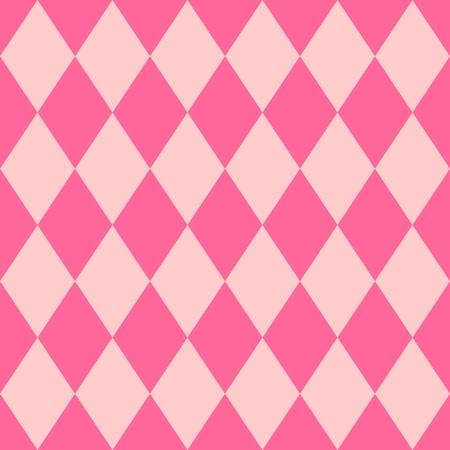Pink tile vector pattern for seamless decoration wallpaper Vektorové ilustrace
