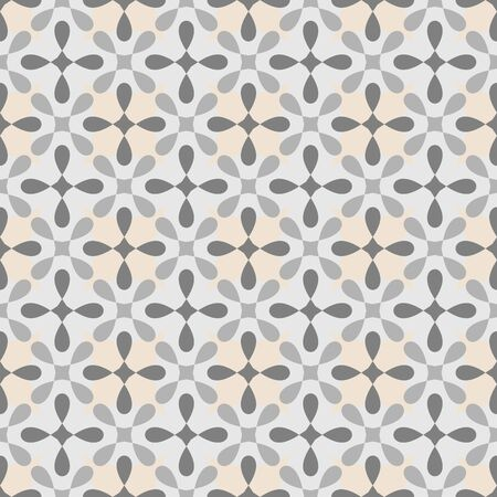 Tile vector pattern for seamless decoration wallpaper