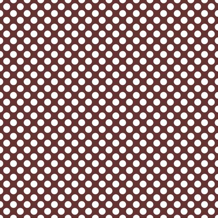 Seamless vector pattern with white polka dots on a dark brown background. For cards, invitations, wedding or baby shower albums, backgrounds, arts and scrapbooks