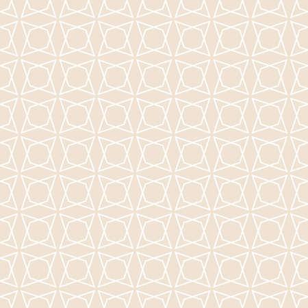 Tile pastel quilted vector pattern for seamless decoration wallpaper Ilustração