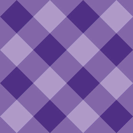 Seamless sweet violet vector background - checkered pattern or grid texture for web design, desktop wallpaper or classic culinary blog website Ilustracja