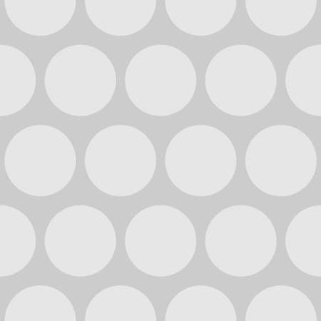Seamless vector pattern with tile   dots on grey background Ilustracja