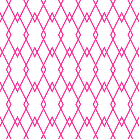 Pastel pink tile vector pattern for seamless decoration background wallpaper