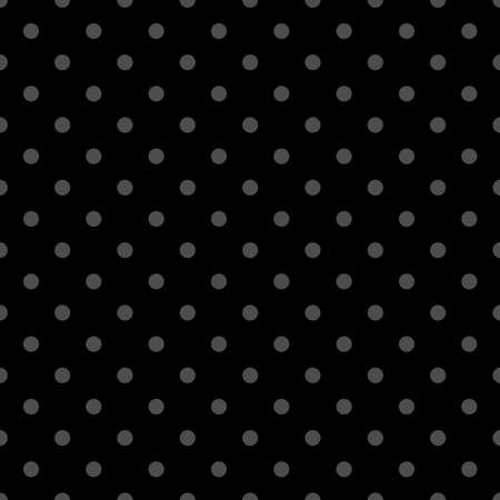 Seamless vector black and grey pattern or background with small polka dots. For desktop wallpaper and website design Ilustracja