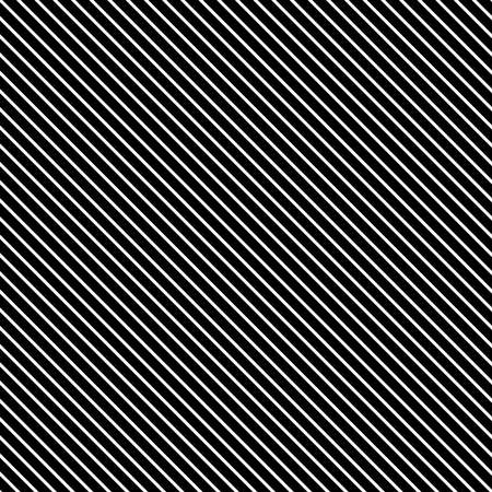 Tile black and white stripes vector pattern or seamless background