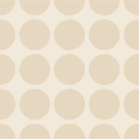 Tile vector pattern with dots on pastel background