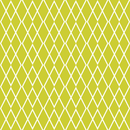 Tile vector pattern or green and white wallpaper Ilustracja