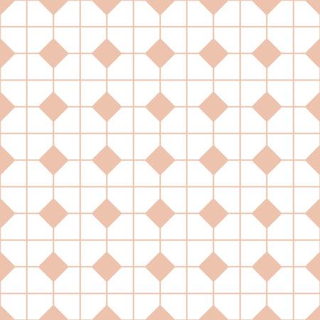 Checkered tile vector pattern Vektorgrafik