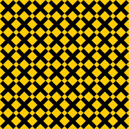 Tile cross plus yellow and black vector pattern for seamless decoration wallpaper